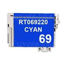 Epson T069220 (#69) Compatible Cyan Ink Cartridge