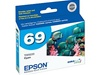 Epson T069220 (#69) Genuine Cyan Ink Cartridge