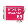 Epson T069320 Compatible Magenta Ink Cartridge #69