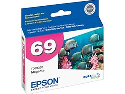 Epson T069320 (#69) Genuine Magenta Ink Cartridge