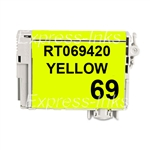 Epson T069420 Compatible Yellow Ink Cartridge #69
