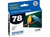 Epson #78 Black Genuine Inkjet Ink Cartridge T078120