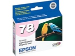 Epson #78 Light Magenta Genuine Inkjet Ink Cartridge T078620