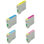 Epson #78 5-Pack Inkjet Ink Cartridge Combo T078920