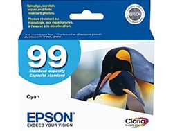 Epson T099220 (#99) Genuine Cyan Inkjet Ink Cartridge