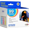 Epson T099 (#99) 5-Pack Inkjet Ink Cartridge Combo