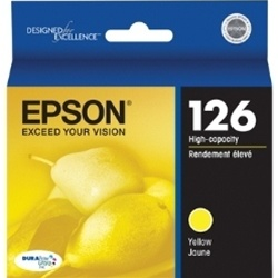 Epson T126420 Genuine Yellow Ink Cartridge #126
