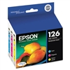 Epson T126520 3-Pack Genuine Ink Cartridge Combo