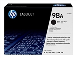 HP 92298A Genuine Toner Cartridge 98A