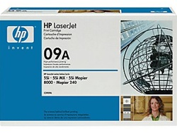 HP C3909A Genuine Toner Cartridge 09A