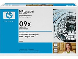 HP C3909X Genuine Toner Cartridge 09X