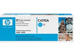 HP C4192A Genuine Cyan Toner Cartridge