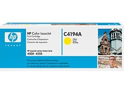 HP C4194A Genuine Yellow Toner Cartridge