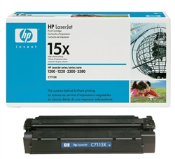 HP C7115X Genuine Toner Cartridge 15X