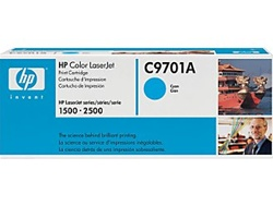 HP Color Laserjet 1500 Cyan Toner Cartridge C9701A