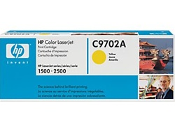 HP C9702A Genuine Yellow Toner Cartridge