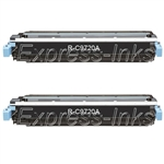 HP Color Laserjet 4610 2-Pack Black Toner Cartridges