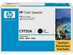 HP Color Laserjet 4600 2-Pack Black Toner Cartridges