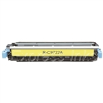 HP C9722A Compatible Yellow Toner Cartridge