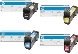 HP CB380A, CB381A, CB382A, CB383A Genuine Toner Cartridge Combo