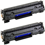 HP CB435D Compatible Toner Cartridge Combo