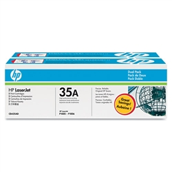 HP CB435D Genuine Toner Cartridge Combo