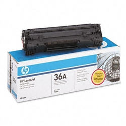 HP CB436A (36A) Genuine Toner Cartridge