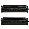 HP Color LaserJet CP1215/ CP1217 Black Toner Combo