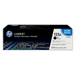 HP CB540AD Genuine Black Toner Cartridge Combo
