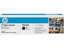 HP CB540A Genuine Black Toner Cartridge