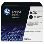 HP CC364XD Genuine 2-Pack Toner Combo 64X