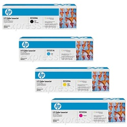 HP CM2320 Genuine Hewlett Packard Toner Cartridge Combo