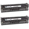 HP CC530AD Black Toner Cartridge 2-Pack