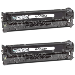 HP Color Laserjet CM2320n 2-Pack Black Toner Cartridge Combo