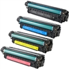HP Color Laserjet CP3525 Toner Cartridge Combo