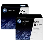 HP CE255XD High Yield Genuine Toner Cartridges