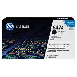 HP CE260A Genuine Black Toner Cartridge