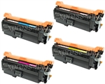 HP CM4540 Compatible 4-Pack Toner Cartridge Combo
