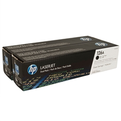 HP CE310AD (126A) 2-Pack Genuine Toner Combo