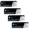 HP CP1525NW Genuine Hewlett Packard 128A Toner Combo