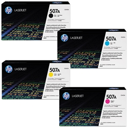 HP M551 4-Pack Genuine Toner Cartridge Combo