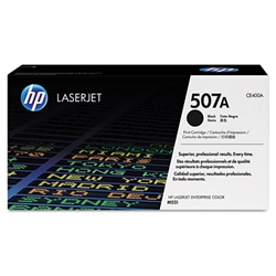 HP CE400A Genuine Black Toner Cartridge