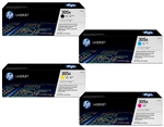 HP CE410A-3A 4-Pack Genuine Toner Combo 305A