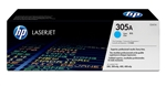 HP CE411A Genuine Cyan Toner Cartridge 305A