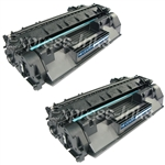 HP CE505A (05A) 2-Pack Black Toner Cartridge Combo