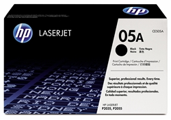 HP CE505A Genuine Black Toner Cartridge (05A)