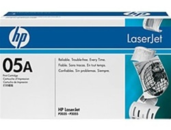 HP Laserjet P2055 Genuine Toner Cartridge CE505A, 05A