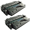HP CE505X (05X) 2-Pack Toner Cartridge Combo CE505XD