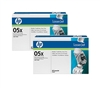 HP CE505XD Genuine Toner Cartridge Combo CE505X