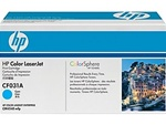 HP CF031A Genuine CM4540 Cyan Toner Cartridge